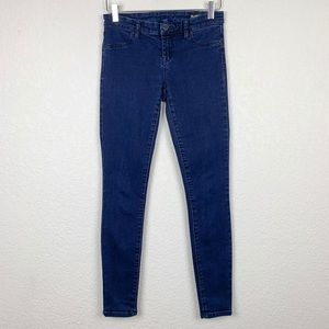 Blank NYC Spray-On Super Skinny Dark Wash Jeans 26